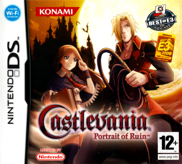 best-castlevania-games castlevania-portrait-of-ruin