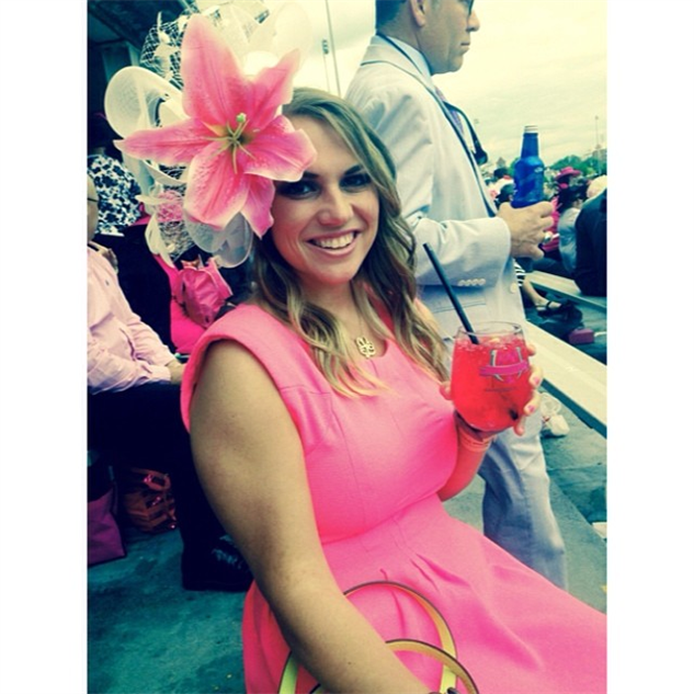 best-of-derby-hats at-kentucky-oaks-having-my-first-lily-drink-------by-lilliek
