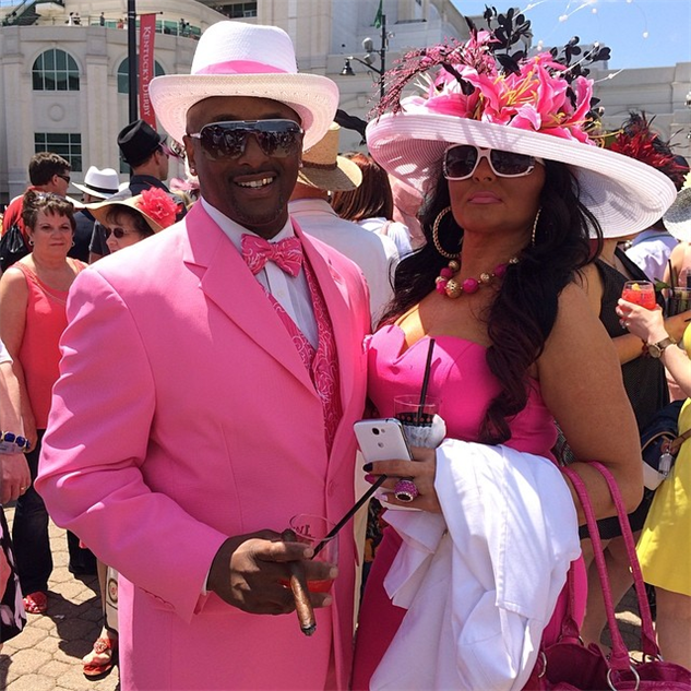 best-of-derby-hats voted-most-pink-couple---kentuckyderby--kentucky--derby--der