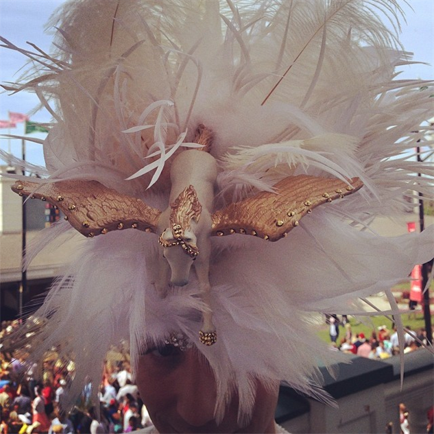 best-of-derby-hats you-asked-we-delivered--johnnygweir-s-epic--kyderby-hat-pega