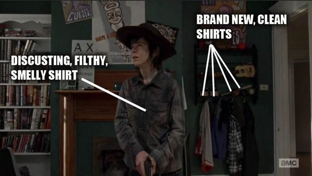 best-walking-dead-memes paste-walking-dead-carl-dirty-shirt