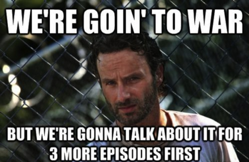 Funny collection of 'The Walking Dead' memes : theCHIVE