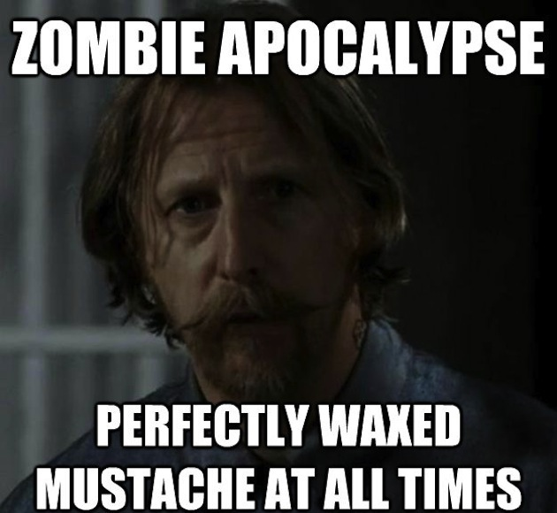 ... Best Walking Dead Memes Paste Walking Dead Waxed Mustache ...