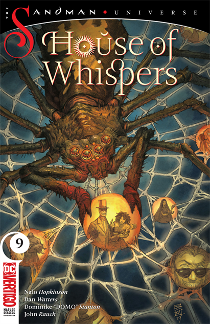 bestcomicbookcoversmay2019 house-of-whispers--9-cover-art-by-sean-andrew-murray