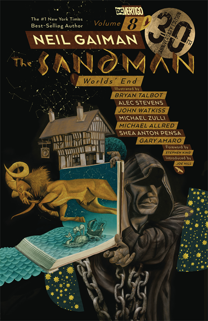 bestcomicbookcoversmay2019 sandman-vol-8-30th-anniversary-edition-cover-art-by-dave-mck