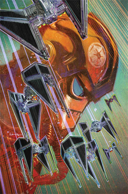 bestcomicbookcoversmay2019 star-wars-tie-fighter--2-cover-art-by-tommy-lee-edwards