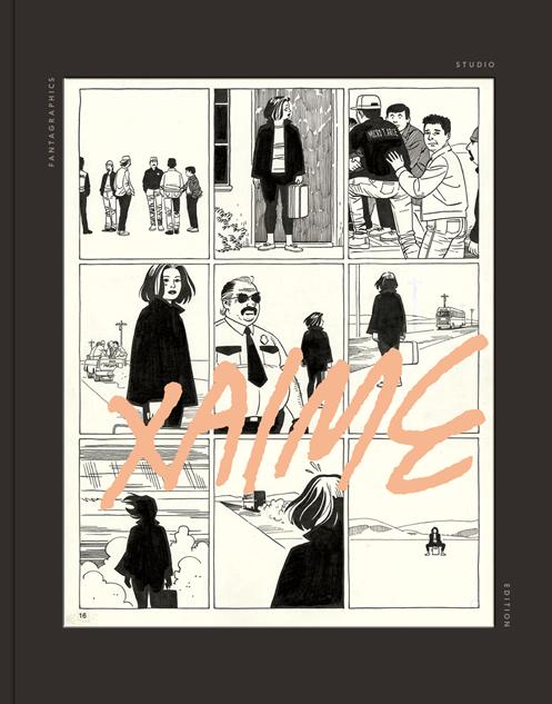 bestcomiccovers2017 fantagraphics-studio-edition-jaime-hernandez