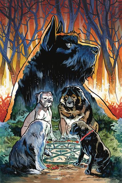 bestcomiccoversaugust2018 beasts-of-burden-wise-dogs--eldritch-men-cover-art-by-benjam