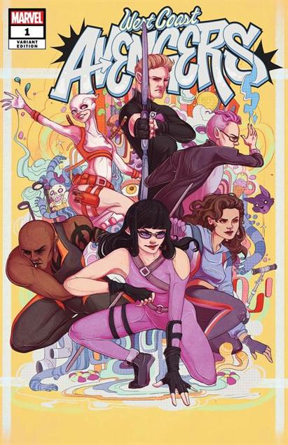 bestcomiccoversaugust2018 west-coast-avengers--1-variant-cover-art-by-lauren-tsai