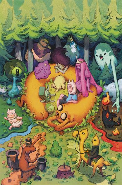 bestcomiccoversdecember adventure-time-season-11-variant-cover-art-by-julie-benbassa