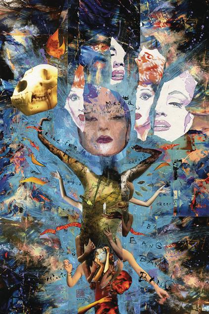 bestcomiccoversdecember american-gods-my-ainsel--9-variant-cover-art-by-david-mack