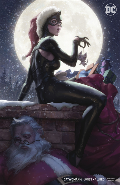 bestcomiccoversdecember catwoman--6-variant-cover-art-by-stanley-lau