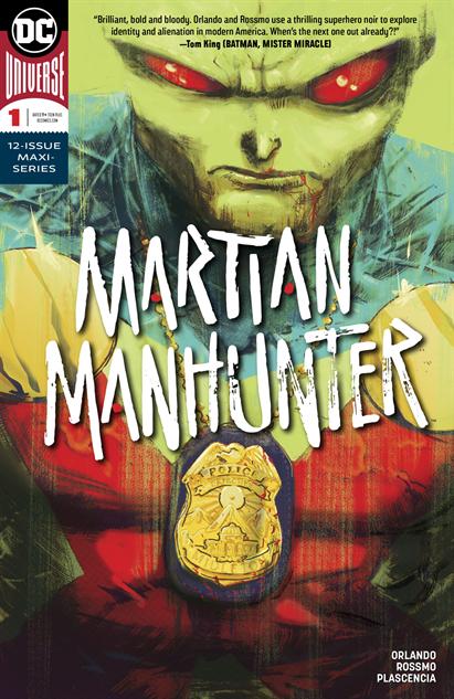 bestcomiccoversdecember martian-manhunter--1-cover-art-by-riley-rossmo
