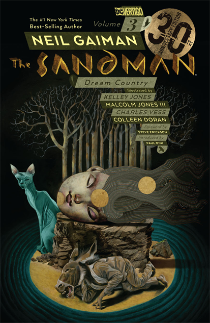 bestcomiccoversdecember sandman-vol-3-dream-country-30th-anniversary-cover-art-by-da
