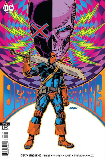 bestcomiccoversfebruary2019 deathstroke--40-variant-cover-art-by-dave-johnson