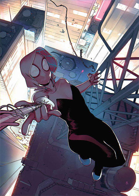 bestcomiccoversfebruary2019 spider-gwen-ghost-spider--5-cover-art-by-bengal