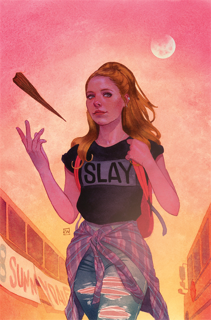 bestcomiccoversjanuary2019 buffy-the-vampire-slayer--1-variant-cover-by-kevin-wada