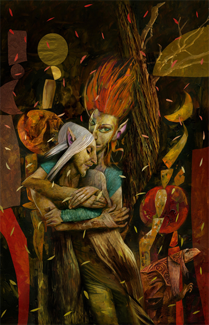 bestcomiccoversjuly2018 beneath-the-dark-crystal--1-variant-cover-art-by-dave-mckean