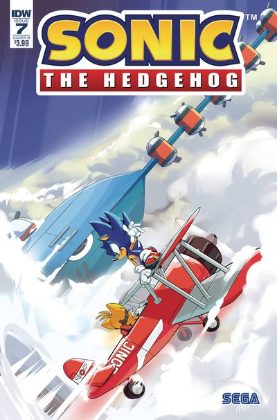 bestcomiccoversjuly2018 sonic-the-hedgehog--7-variant-cover-by-adam-bryce-thomas