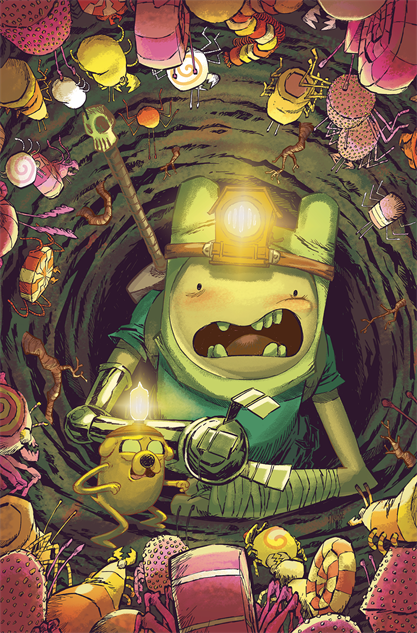 bestcomiccoversmarch2019 adventure-time-season-11--6-cover-art-by-jorge-corona