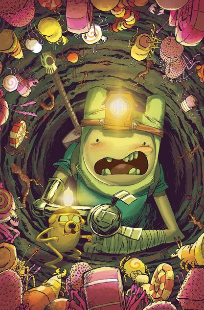 bestcomiccoversmarch2019 adventure-time-season-11--6-cover-art-by-jorge-corona