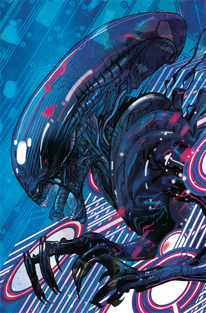 bestcomiccoversmarch2019 william-gibsons-alien-3--5-variant-cover-art-by-christian-wa