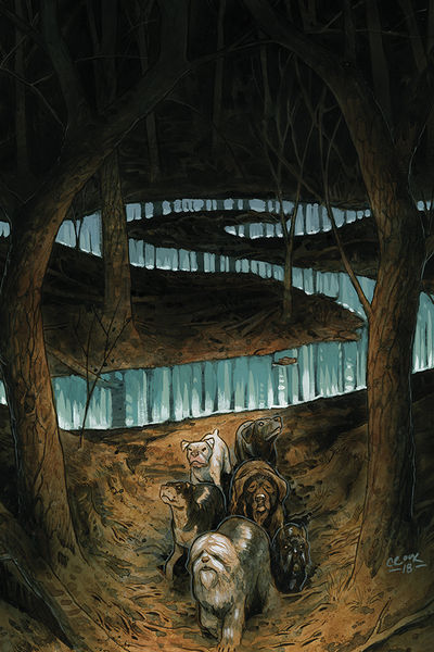 bestcomiccoversoctober2018 beasts-of-burden-wise-dogs-and-eldritch-men--3-variant-cover