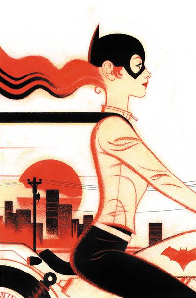 bestcomiccoversof2018 batgirl--26-variant-cover-art-by-joshua-middleton