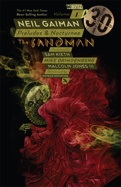 bestcomiccoversof2018 sandman-vo-1-30th-anniversary-edition-cover-art-by-dave-mcke
