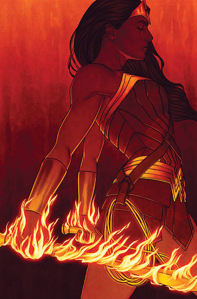 bestcomiccoversof2018 wonder-woman--54-variant-cover-art-by-jenny-frison