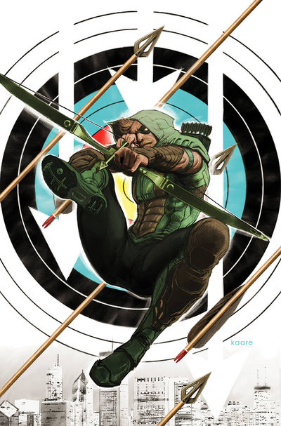 bestcomiccoversseptember2018 green-arrow--44-variant-cover-art-by-kaare-andrews