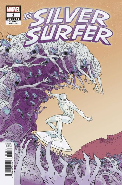 bestcomiccoversseptember2018 silver-surfer-annual--1-variant-cover-by-marcos-martin