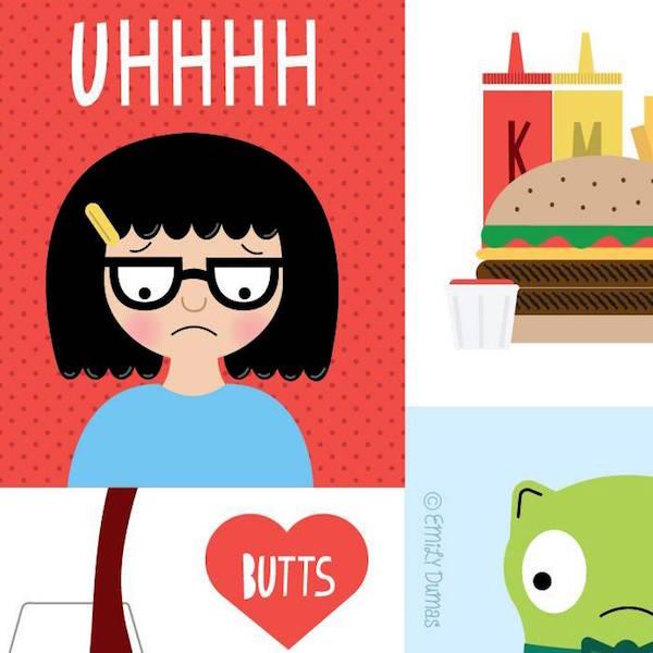 bobs-burgers-art-gallery bobs-burgers-emily-dumas
