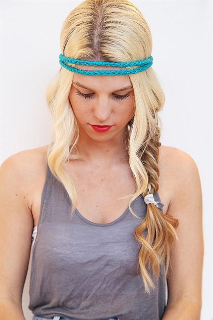 boho-style-headbands blue