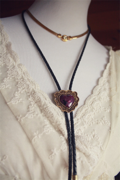 Bolo Tie Necklaces for Bold Outfit Toppers :: Style ...