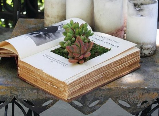 book-diy 2bookplanter
