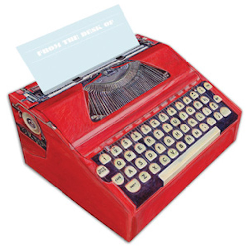 book-gifts-under-20 typewriter-use
