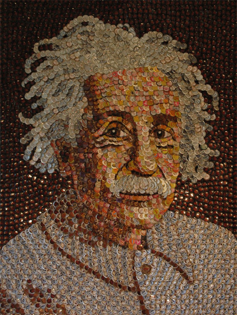 bottle-cap-portraits- albert-einstein--772x1024