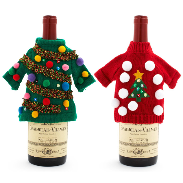 Christmas Liquor.10 Ugly Christmas Sweaters For Your Liquor Bottle Paste
