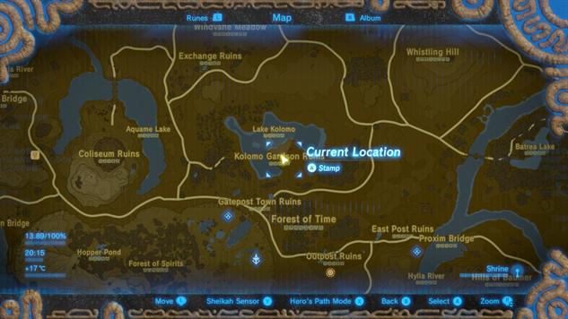 Misko The Great Bandit Zelda >> Zelda: Breath of the Wild Guide: How to Find Majora's Mask ...