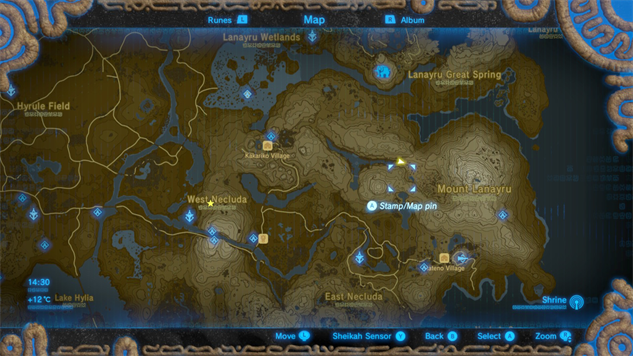 How to find zelda breath of the wilds recovered memories botw memory locations memory 11 b gumiabroncs Choice Image