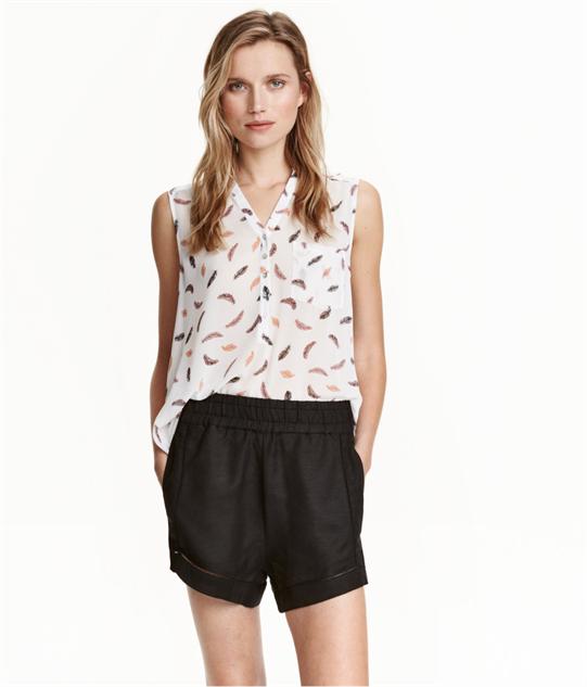 breezy-linen-shorts blend
