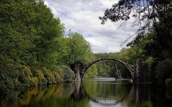 bridges rakotz-bridge-germany