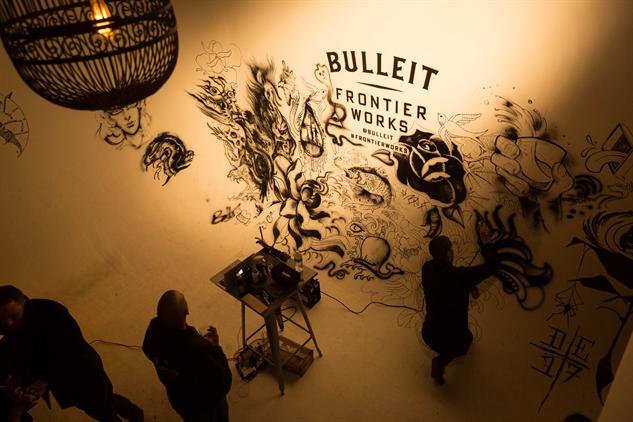 bulleit-tattoos bulleit-airbrush-tattoo-wall