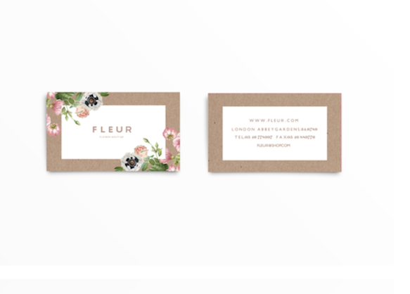 50 of the best business card designs design galleries paste business cards 12 bc fleur reheart Images