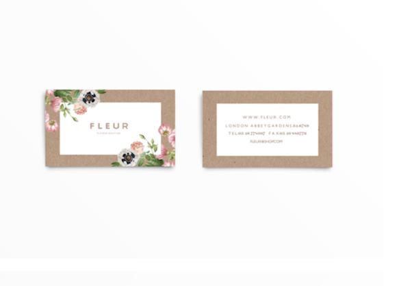 business-cards 12-bc-fleur