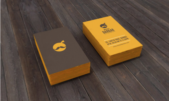 Perfect Self Branding By Martina Wedzicka; Business Cards 16 Bc Masaladarbar