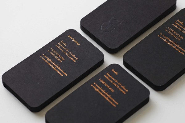 50 of the Best Business Card Designs Design Galleries Paste