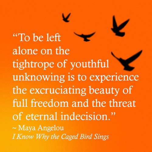 an analysis of i know why the caged bird sings an autobiography of maya angelou Today's #googledoodle celebrates dr maya angelou's 90th birthday  we celebrate the re-release of i know why the caged bird sings,  maya's world: .