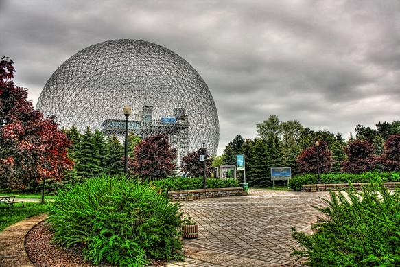 canada-architecture montreal-biosphere-canada